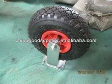 pneumatic rubber castor wheel 3.00-4
