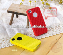 Soft silicon rubber protective covers for iphone4s 4