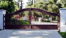 indoor wood gates