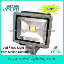 20W Ground Floodlights CE ROHS LED Flood Light with Motion Sensor
