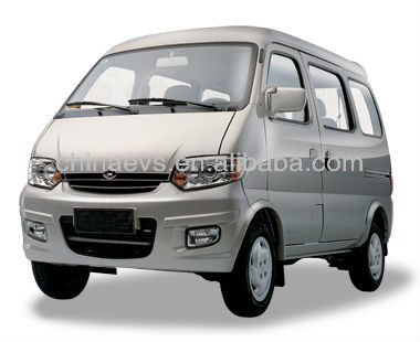 Electric Van with 80km/hr Maximum Speed and Automatic Gearshift