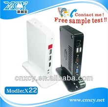 new product android HD media player XCY X-22 support 1080p