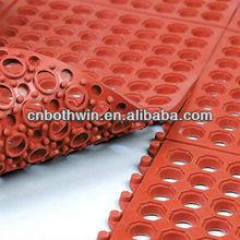 Drainage rubber mat/garden/grass