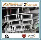 U Channel Steel Size