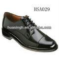 Xy, ar serviço de serviço de pessoal uniforme dos homens oi - brilho escritório sapatos de couro
