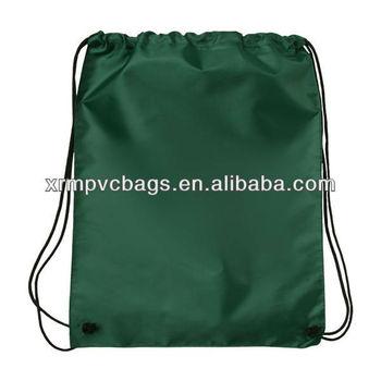2012 nylon drawstring foldable reusable shopping bag