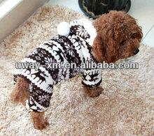 New arrival Christmas design collar fleece pet clothing