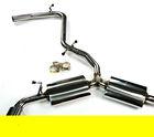 Stainless steel 304 Exhaust Pipes For VW Volkswagen MK6 GTI 2.0T CATBACK Exhaust system pipes ( fit 2 door and 4 door)