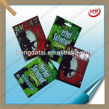 Different printed ziplock packing bags/Kratom bag/AK-47 bag