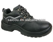 genuine leather steel toe shoes kid shoe factory ( SC-2235)