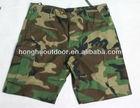 Fashion camouflage BDU shorts Army print shorts designer camouflage shorts