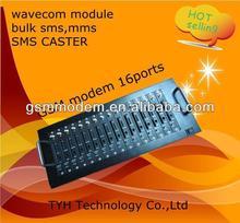 rj45 port interface usb modem GSM modem wavecom 16ports bulk SMS MMS EDGE/sim box