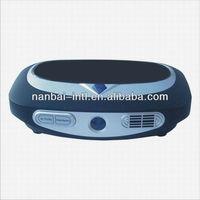 Car battery air freshener with ionizer, ozonizer, Nano & HEPA & Carbon filters, UV and perfumer