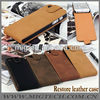Restro business style for iphone 5 leather case, for apple iphone 5