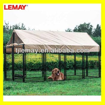 Well designed luxury dog kennel
