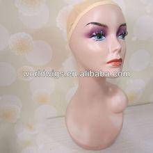 fiber reinforce plastic beautiful and fashional mannequin head