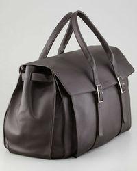 high quality leather travel bag/duffel bag