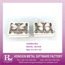 HX-2130 Classic 3D Animal Lenticular Jewelry Boxes Wholesale