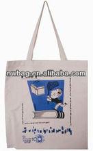2013 fashion Cotton Canvas Tote Bag Long Handle