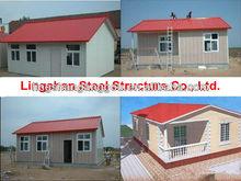 prefabricated modular house with ISO9001:2008,Canada