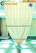 organza curtain from jiaxing factory