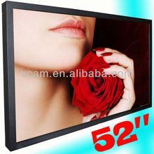 52 Inch Wall-mounted High-brightness Advertising LCD 1080P HD Media Display HDMI(VP520HD)
