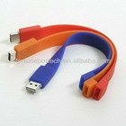 1gb 2gb rubber wristband usb flash drive bracelet usb memory stick bulk cheap