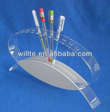 clear acrylic pen/pencil holder