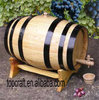 antique wooden barrel for beer and wine