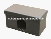 popular!!!foldable storage pet house long ottoman