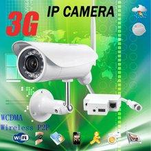wireless web 3G cctv camera 3G sim card security surveillance ip camera hidden microphone