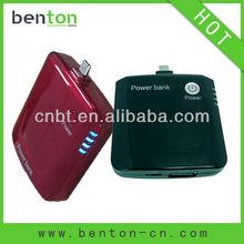 2012&2012 new 2000 mah 5v portable power bank With LED indicator