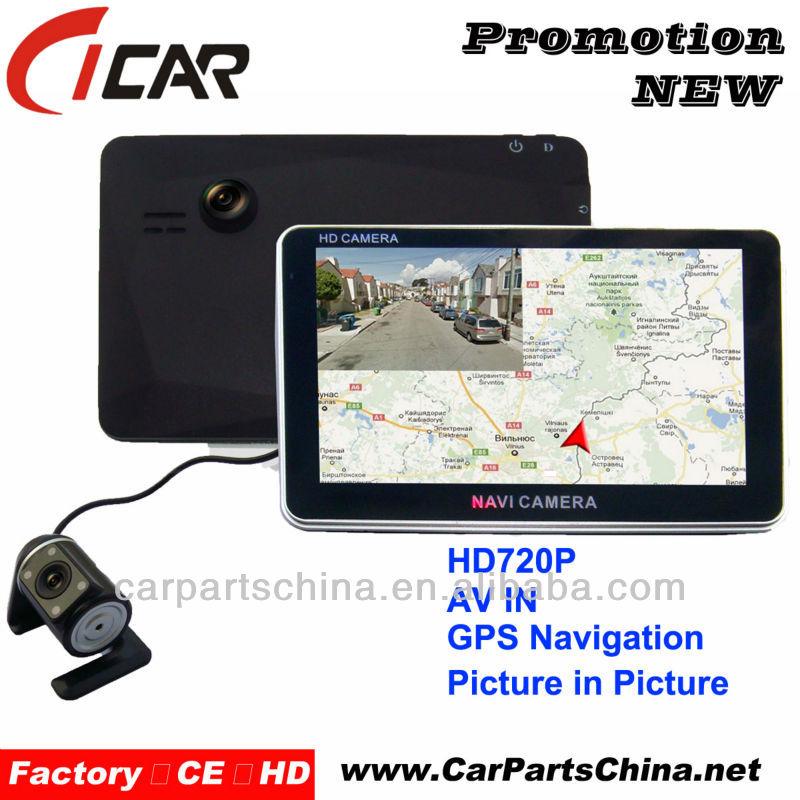 Dual Camera HD Auto Camera GPS Navigation
