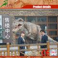 les activités de promotion avec la réplication dinosaures modèle