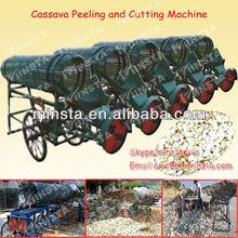big capacity combined electric cassava peeling machine