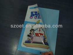 A4 document folder, L shape folder