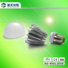 Good E27 B22 light base 5w bulb lamp shell