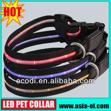The newest ,the hottest ! high brightness led illuminous dog leash/illuminous dog collar