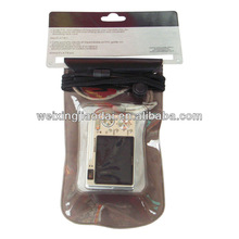 Clear PVC waterproof case/pouch/dry bagfor phone/camera