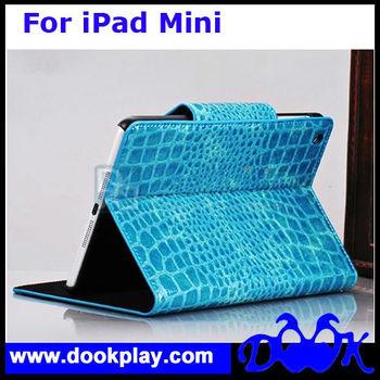 Crocodile Case For iPad Mini Flip Leather Case