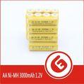 großhandel preis mit hoher kapazität gelb pvc zelle aa akku made in china
