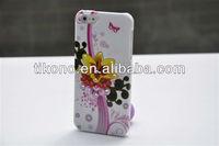 IMD design with diamond plastic hard pc case for iphone5
