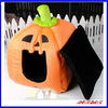 pumpkin house shape dog bed