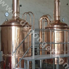 beer produce/SUS304/316/red copper bar beer brewing equipment