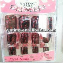 Zebra line nail tips fashional tips