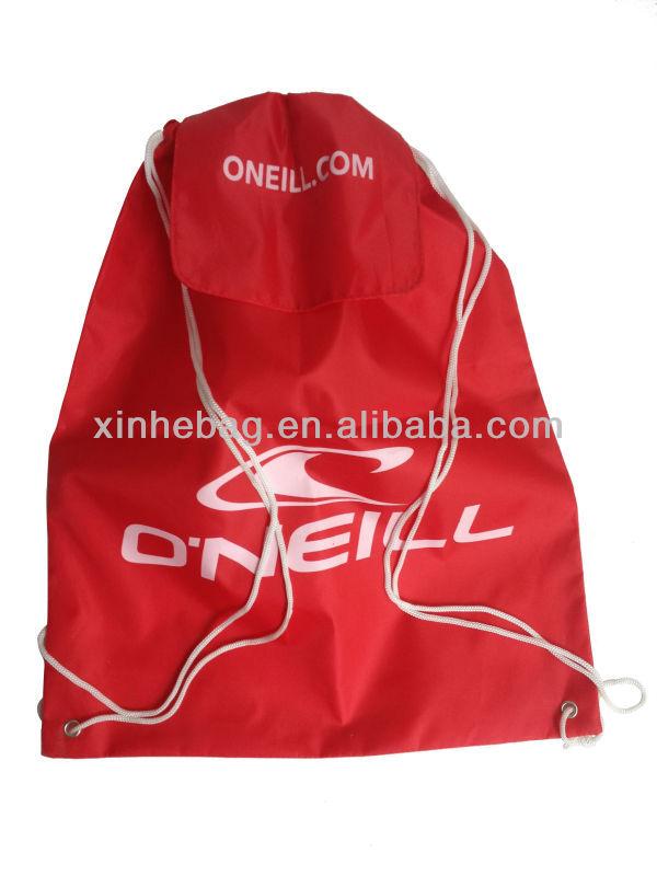 Waterproof 100% Polyester Drawstring Bag