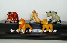 plastic animal toy sets -3D lion figure toy
