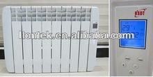 aluminum oil filled radiator heater wall mounted