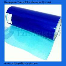 Blue pe film scrap