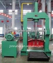 660mm rubber guillotine bailing cutter/bale cutting machine